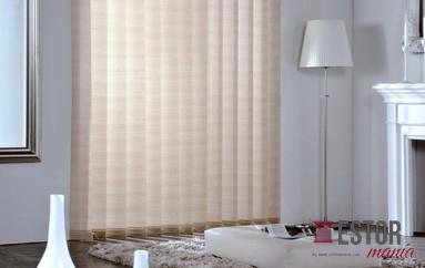Cortinas de lamas verticales transl cidas shantung sh 31 for Cortinas translucidas