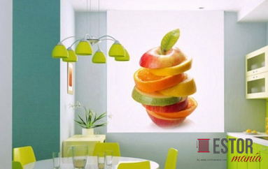 Estores enrollables fotogr ficos de cocina ref 2109 - Estores enrollables fotograficos ...