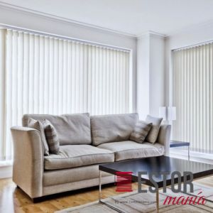 Cortinas de lamas verticales screen